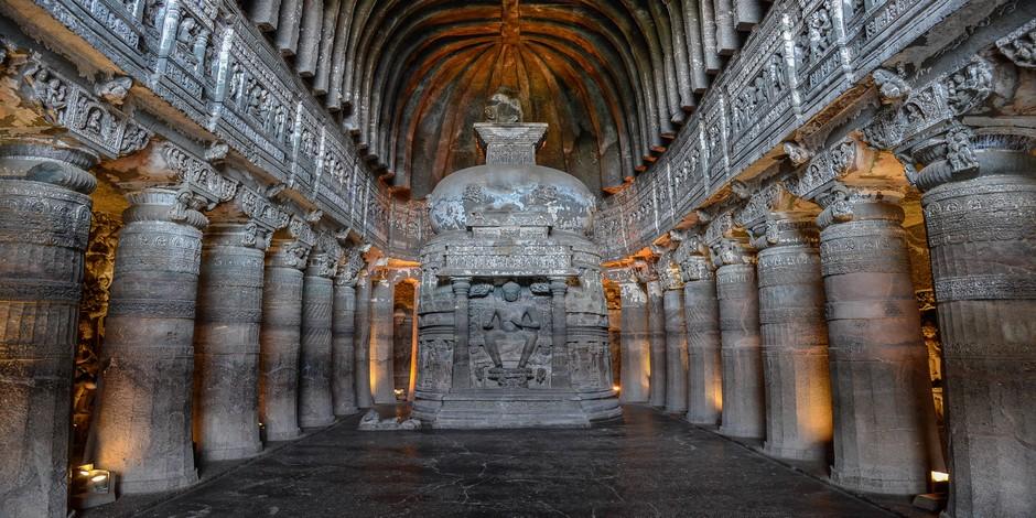 Temples rupestres d'Ajanta