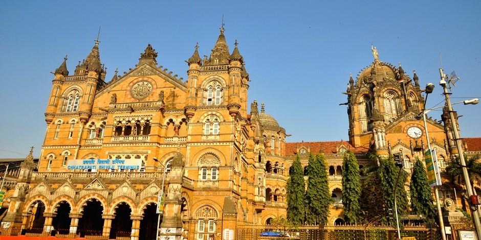 La gare Chhatrapati Shivaji Terminus