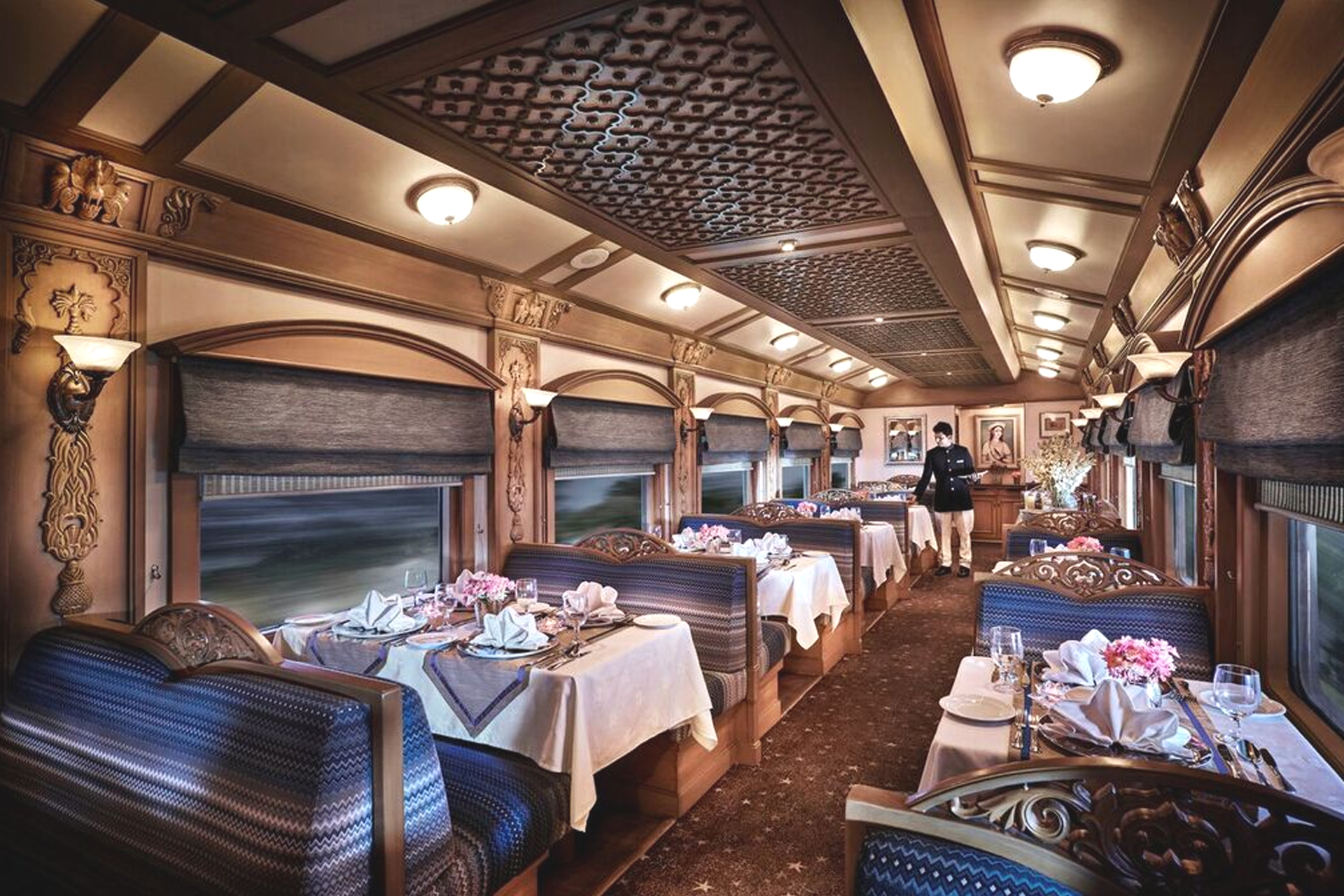Restaurant du Train Deccan Odyssey