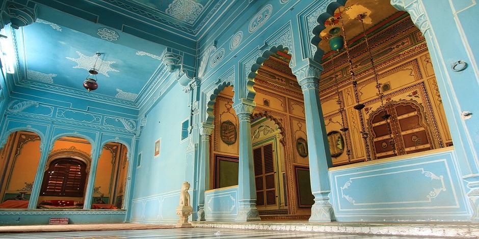 A l'intérieur du City Palace